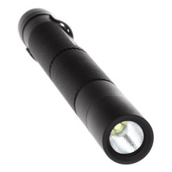 MiniTac MT100 Tactical Flashlight 5.4-inch water resistant aluminum body, .6-inch diameter, tail switch, 100lm white LED