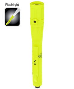 XPP-5410G Intrinsically Safe Penlight, 5.8-inch polymer body, waterproof, .7-inch diameter, tail switch, 30lm white LED