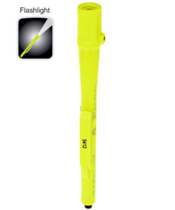 XPP-5412G Intrinsically Safe Penlight 6.8-inch waterproof polymer body, .5-inch diameter, tail switch, 50lm white LED