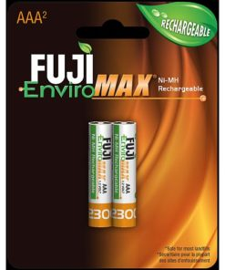 Fuji Battery 9400BP2, AAA NiMH, Case quantities 192 cells. Blister pack contains 4 batteries.