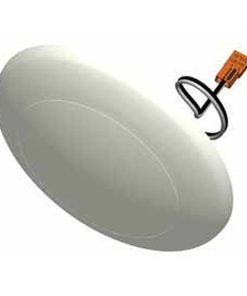 """BRK-LED36-DL dimmable 7"""" saucer shape dome light molded from thermoplastic. 1200lm at 14W with 2 CCT options."""