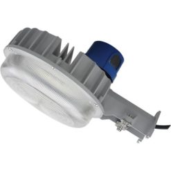 """LED-DDALSN55W-5K Yard Light with photocell, 55W, 13""""x7"""" aluminum housing with fluted PC lens."""