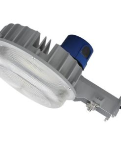 "LED-DDALSN55W-5K Yard Light with photocell, 55W, 13""x7"" aluminum housing with fluted PC lens."